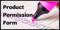 Product Permission Form