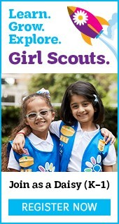 Learn. Grow. Explore. Girl Scouts. Join as a Daisy (K-1). Register Now